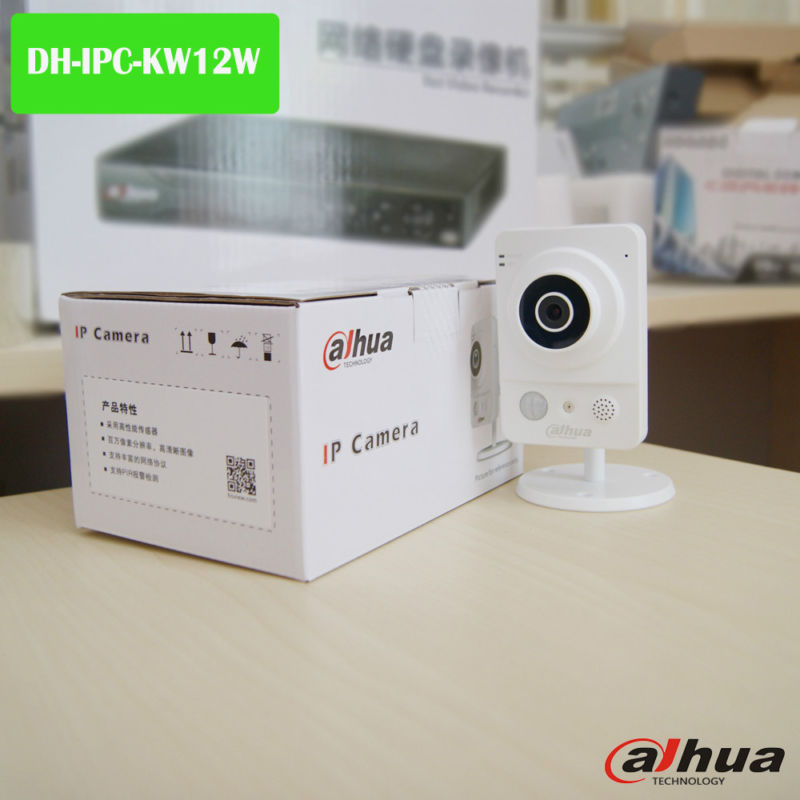 DAHUA IPC-KW12W 1MP 3.6mm,Ses,Wifi Küp IP Kamera